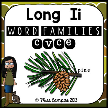 Long Vowels Long I Magic E CVCe Words