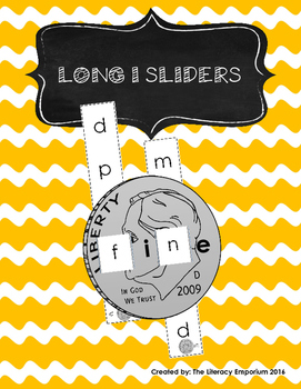 Long I Word Sliders