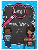 Long I Word Work {-i, -igh, -y, i_e, -ie patterns}