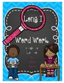 Long I Word Work {-i, -igh, -y, i_e, -ie patterns}