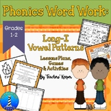 Long-I Word Work: Lessons Plans, Games and Activites