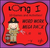 Long I -  Word Work Mega Pack!