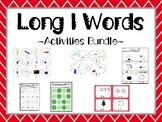 Long I Words Activity Bundle