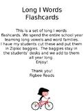 Long I Words Flashcards