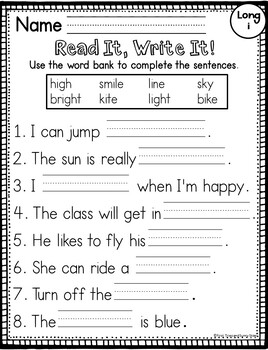 Igh Worksheets on Finding Igh In Text