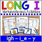 Long i Worksheets- Silent e, igh, y