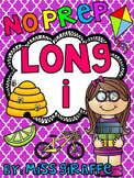 Long I Worksheets and Activities {NO PREP!}