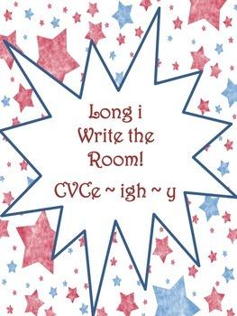 Write the Room Activity - Long I