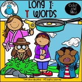 Long I: Y Words Clip Art Set - Chirp Graphics