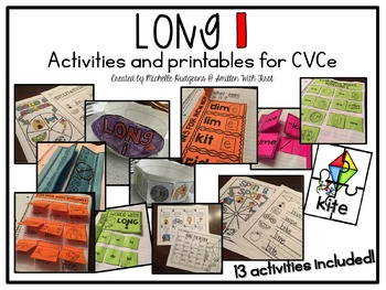 Long I {activities and printables for CVCe}