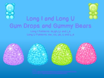 Long I and U Gumdrop Sort