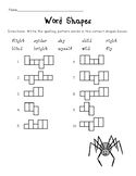 Long I: i, igh, and y Worksheets