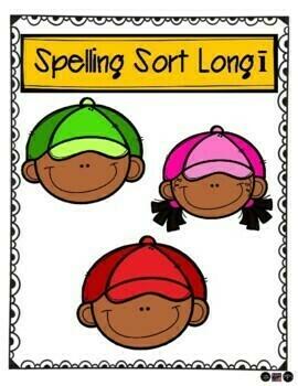 Long I (i, igh, ie, y) California Treasures Second Grade Unit 2 Week 3 Spelling