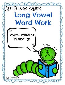 Long Vowels Long I