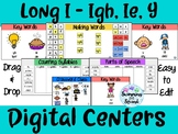 Long I (igh, ie, y, ind, ild) Digital Centers