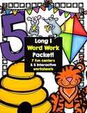 Long I (vce) Word Work Centers