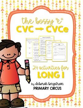 Long I with Bossy E Unit - CVCe Spelling Pattern