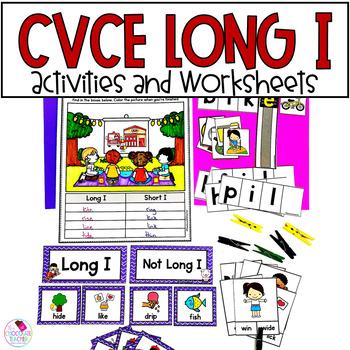 Long I with Magic E CVCe