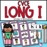 CVCE Long I Unit With Sorting, Worksheets, Word Building