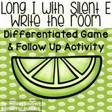 Long I with Silent E (CVCe) - Write the Room Game