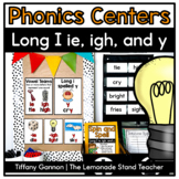 Long I Word Work {spelled i, ie, igh, and y}