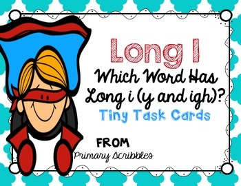 Long I (y and igh words)