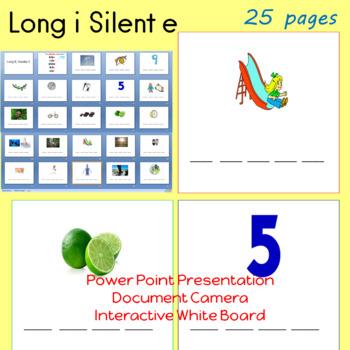 Long i Silent e  CVCE Power Point Presentation
