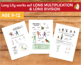 Long Lily Works Out Long Multiplication And Long Division (9-12 years)