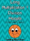 Long Multiplication and Division Hoopla