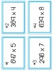 Long Multiplication (Traditional Algorithm) Graphic Organi