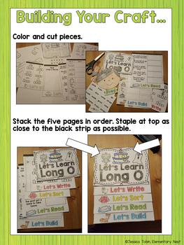 Long O Flip Book
