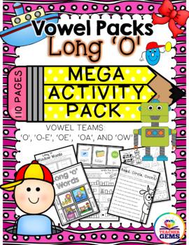 Long O Mega Activity Pack