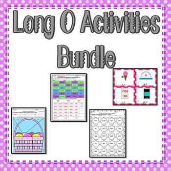 Long O Activities Bundle