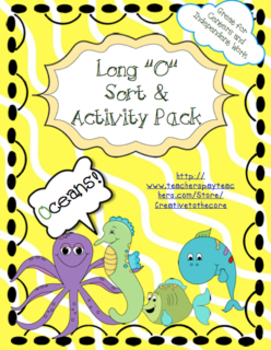 Long O Activity Pack