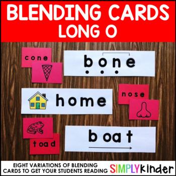 Long O Blending Cards