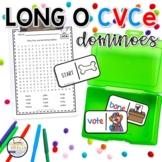 Long O CVCe Domino Phonics Activity for Literacy Centers