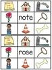 Long O Silent E Clip Cards Center Activities