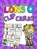 Long O Clip Cards Centers