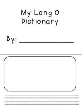 Long O Dictionary
