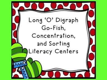 Long 'O' Digraph Literacy Center Games- Winter Theme