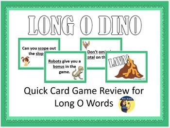 Long O Dino Card Game
