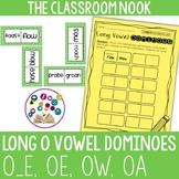 Long Vowel Dominoes: Long O (oe, o_e, oa, ow)
