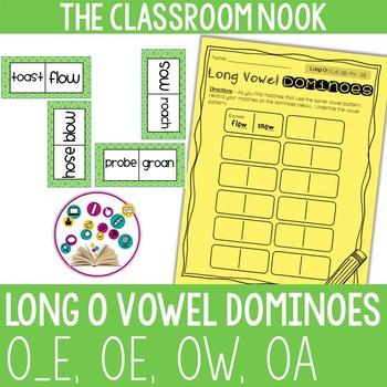 Long Vowel Dominoes: Long O (oe, o_e, oa, ow)