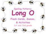 Long O Flash Cards, Activities