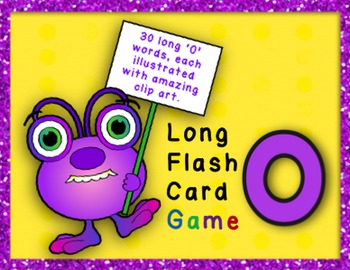 Long O Flashcard Game - CVCe Words