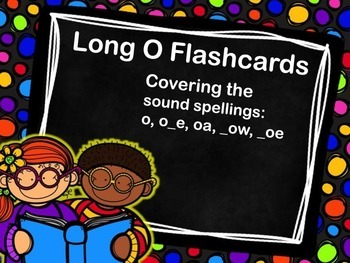 Long O Flashcards