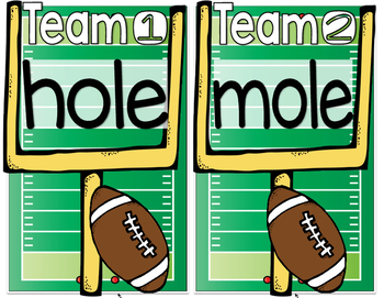 Long O (Sneaky E) Football