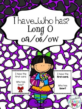 Long O- I have, who has game cards (with and without pictures)
