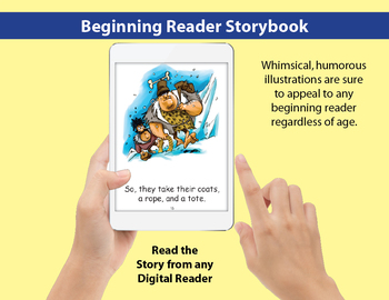 Long O Little Book: Beginning Reader Storybook
