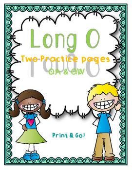 Long O - OA & OW